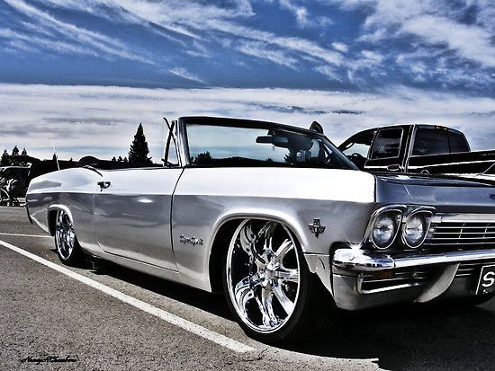 1965 Chevy Impala by NancyC I can see my man Cruzin in this!