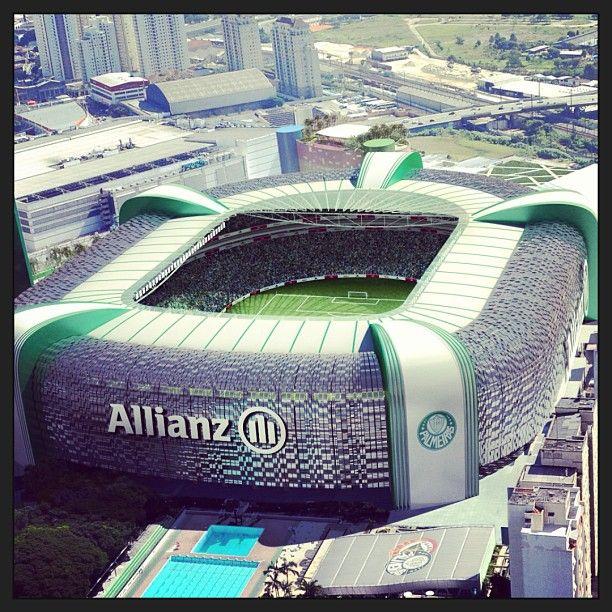 Allianz Parque em São Paulo, SP