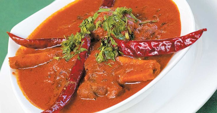 Red meat curry (Lal Maas), a delicacy from Jaipur