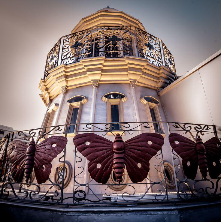 EL FARO DE LAS MARIPOSAS, Spain. This is a lighthouse.
