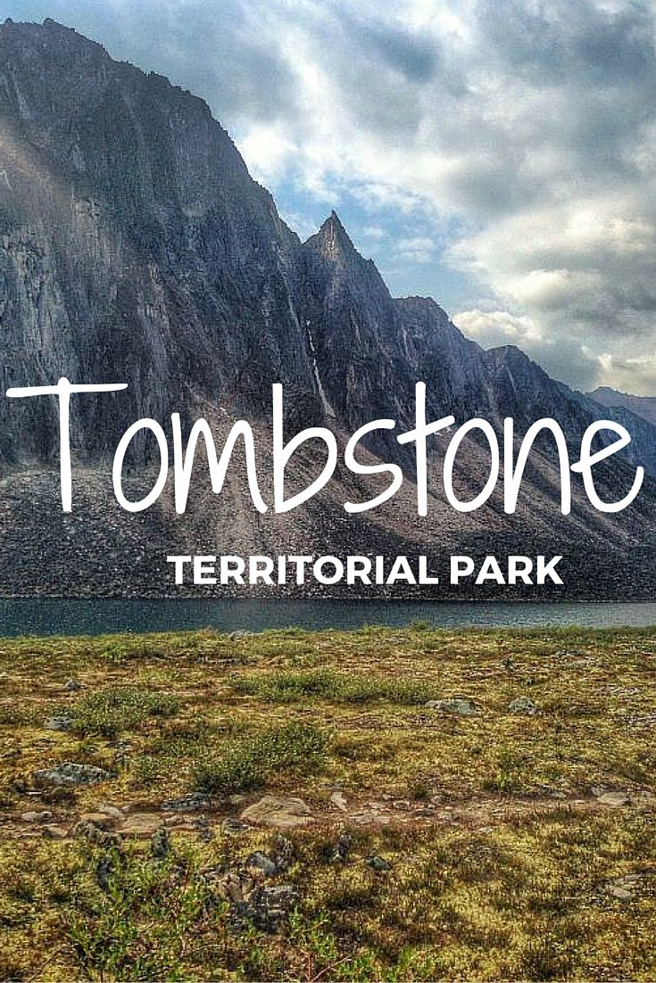 Tombstone Territorial Park in Yukon, Canada is a spectacular area complete with mountain peaks, vibrant tundra and some of the bluest water ever seen.