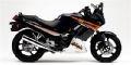 2005 Kawasaki Ninja 250R – my current bike. 50-70 mpg and really agile. Mine is all gray.