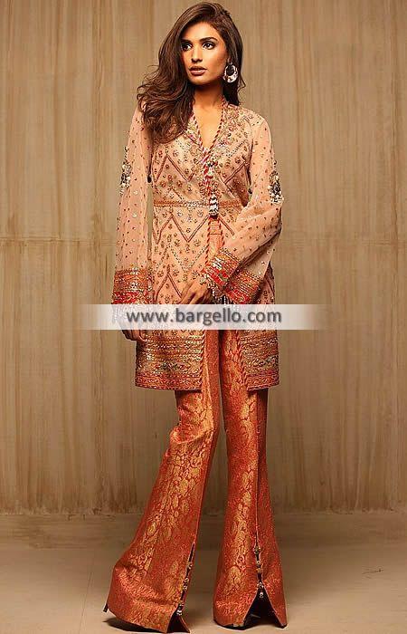 Party Dresses Trends in Pakistan Party Wear Truro UK D6348 Party Wear