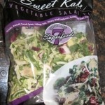 Sweet Kale Vegetable Salad Kit From Costco.  I am addicted to this salad!