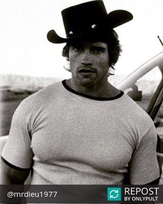Repost @mrdieu1977  Wild west Arnold  #nabba #ifbb #classic #bodybuilding #chest #back #biceps #abs #greek #gym #workout #training #70's #60's #80's #old #oldschool #goldenera #era #bodybuildingmotivation #oldschoolbodybuilding #aesthetic #bodybuildinglegend #Arnold #Schwarzenegger http://vnat.ca/1seeN6z #ViralInNature