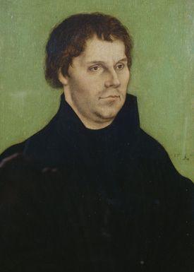 《マルティン・ルターの肖像》Cranach