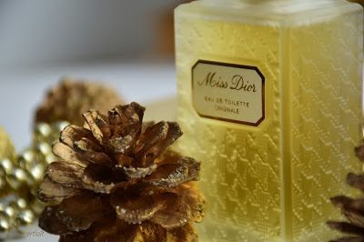 "Christian Dior - ""Miss Dior Originale"" edt 50ml. Рождество в ретро-стиле, под песни Синатры. Review and Swatches/Отзыв."