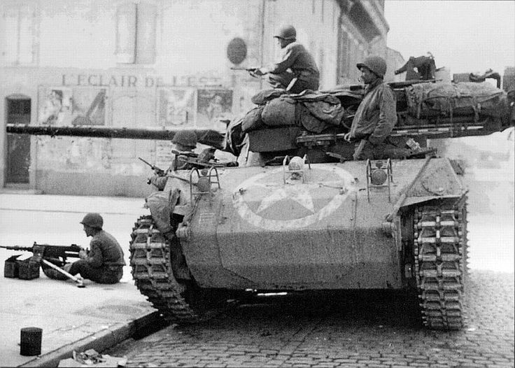 M18 Hellcat 6th Armored Division