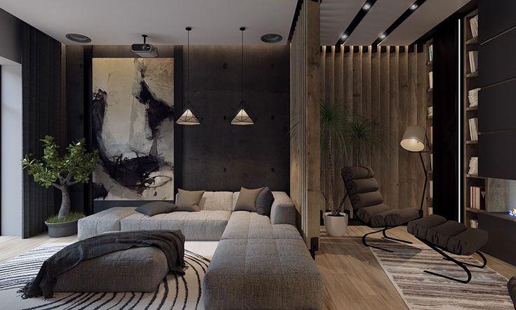 Quadri per soggiorno moderno 23