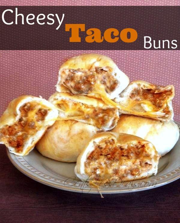 Cheesy Taco Buns