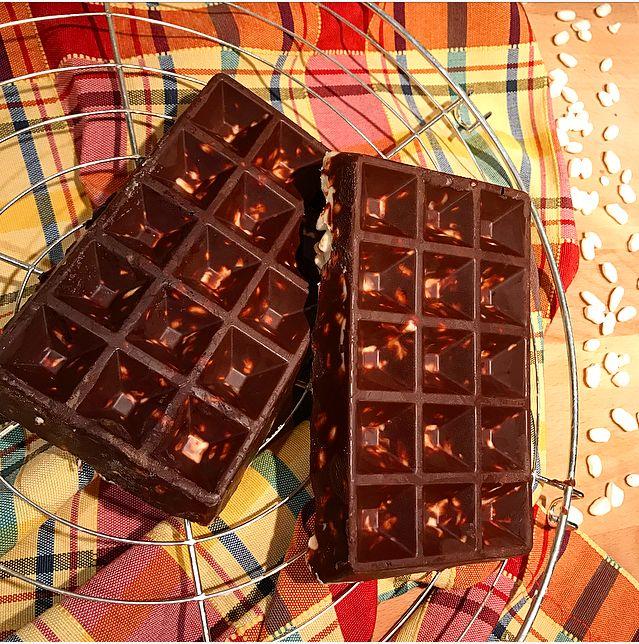 Waffle cioccolato con riso soffiato | My Kitchen 56