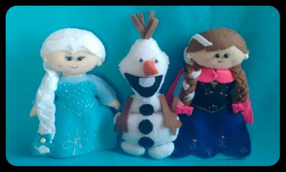 Turma frozen Elsa , Olaf , Anna