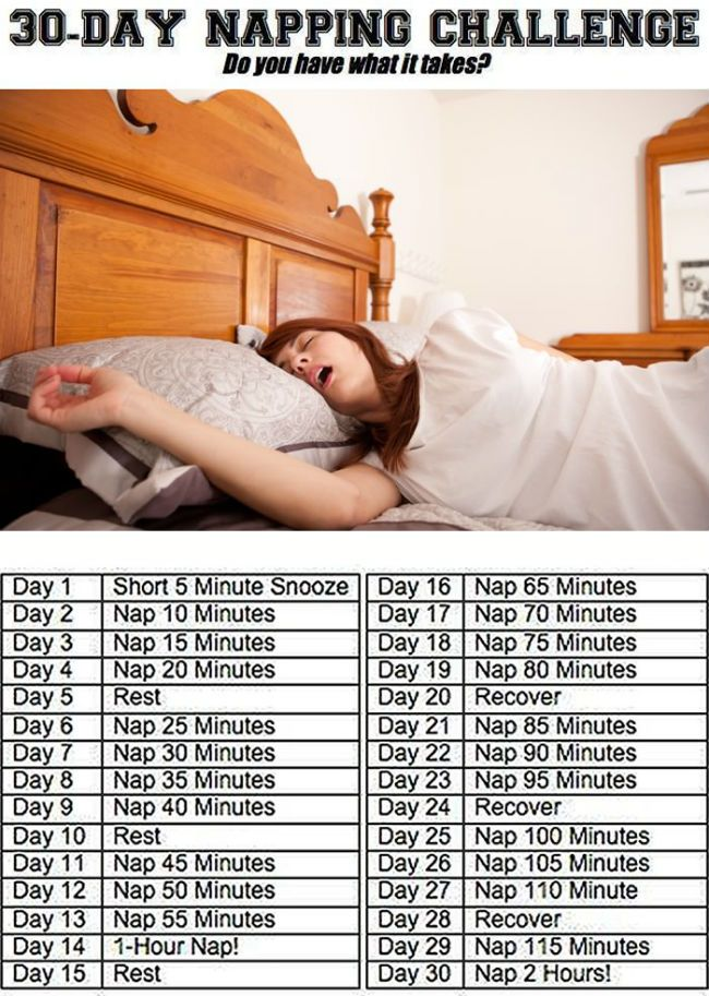 30 day napping challenge - Challenge accepted!