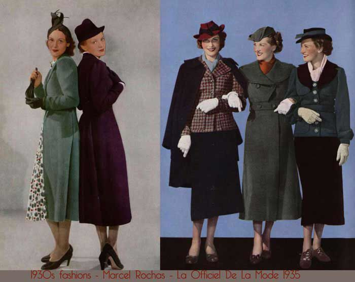 Ladies tailored skirt suits 1930 39 s 1930s fashion for British mode