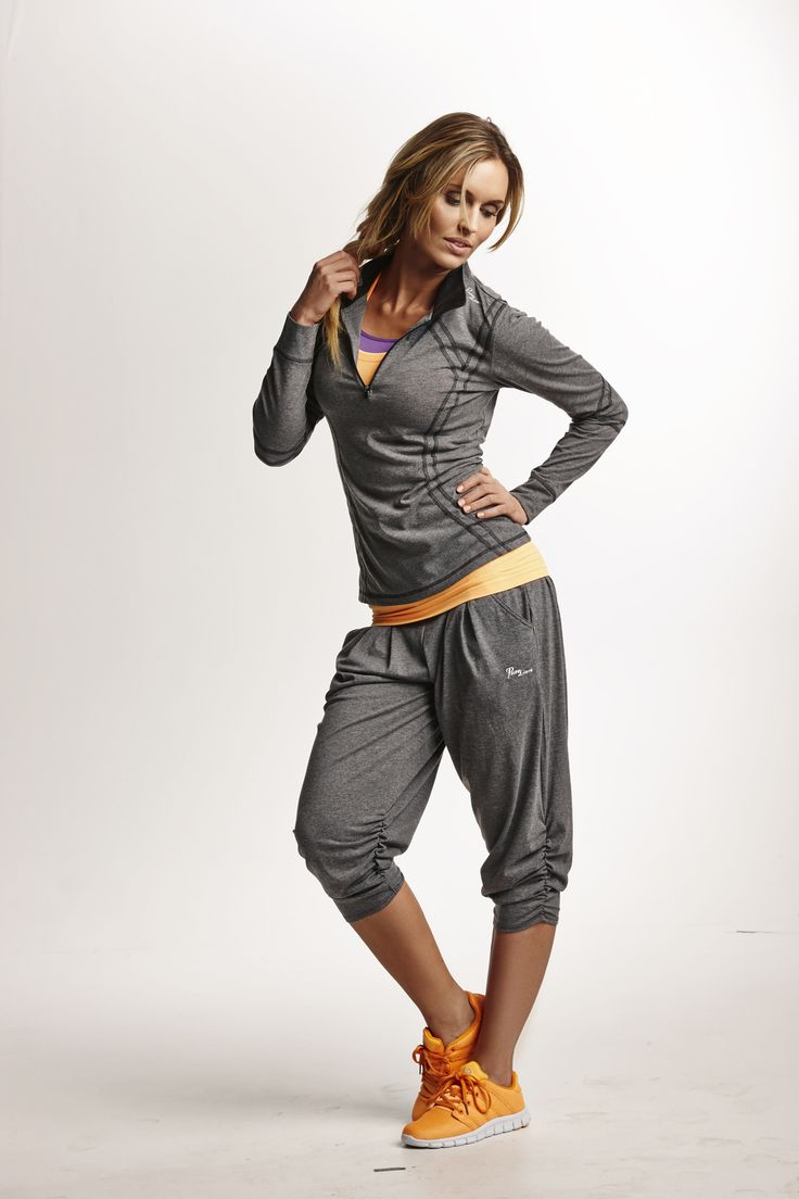 Purelime outfit, casual maar toch sportief.