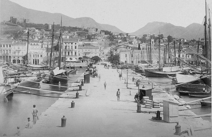 Το λιμάνι της Πάτρας το 1895
