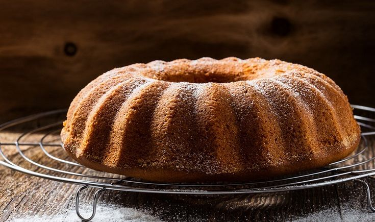 Αφράτο κέικ με τζίντζερ και λεμόνι
