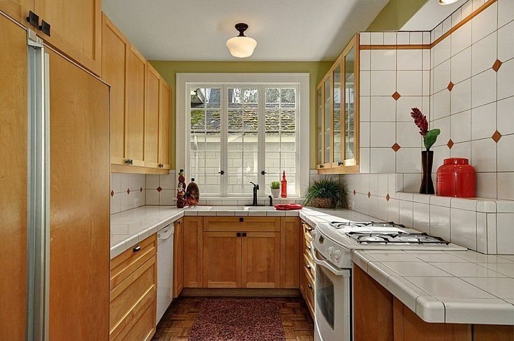 French windows help enlarge this space.