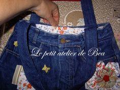 Vous avez nombreuses à laisser des commentaires très enthousiates sur l'article de mon sac à jean et je vous en remercie. Certaines d'entre-vous ont envie de se lancer dans la réalisation de ce sac, alors pour Thérèse, Virginie et les autres, voici les...