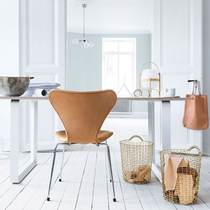 Korbo Bin 18 - Solid Brass. When you want a waste paper basket that is not only practical but über stylish too then look no further than the Korbo bin 18.