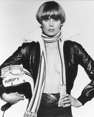 Joanna Lumley as Purdey in The New Avengers