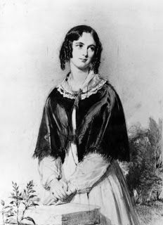 The Heir of Redclyffe by English writer Charlotte Yonge was the first of her popular romantic novels.  It was published in 1853 and was so popular that it went through many editions and she wrote many more books. The novel begins with the death of the heir's grandfather, leaving him dependant on family he does not know until he comes of age at twenty-five.