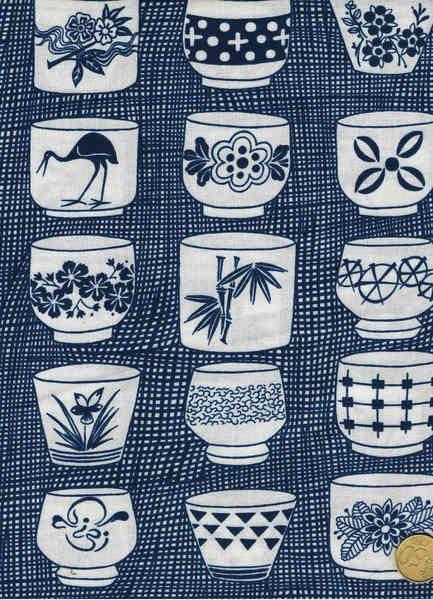 Alexander Henry, Genmai tea cup von Ela Stellmach auf DaWanda.com