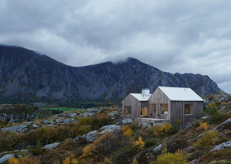 Vega Cottage by Kolman Boye Architects references weathered boathouses