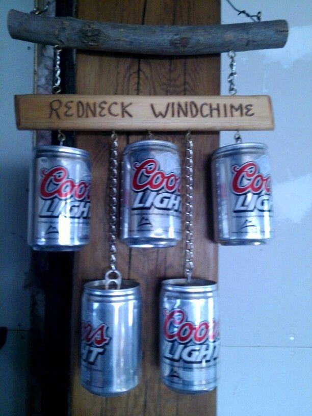 Redneck windchime by Deb