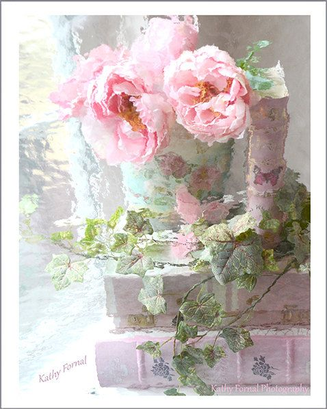 Peonies Photography Dreamy Peonies Still Life by KathyFornal, $30.00