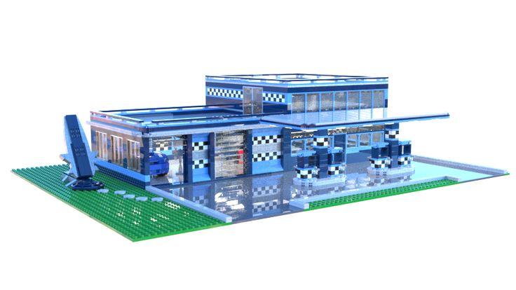 LEGO.com - Gallery - LEGO.com Gallery - City Project Entry! (Brick's Garage)