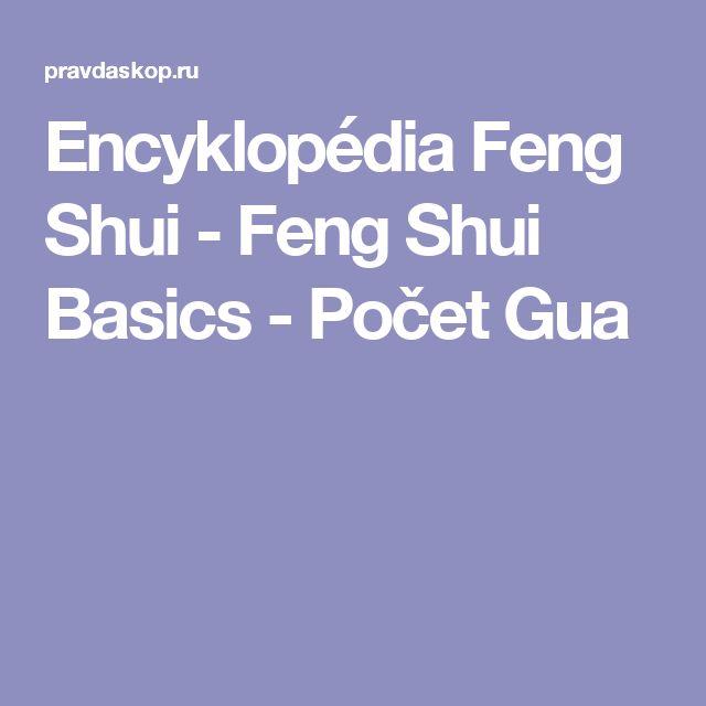 Encyklopédia Feng Shui - Feng Shui Basics - Počet Gua