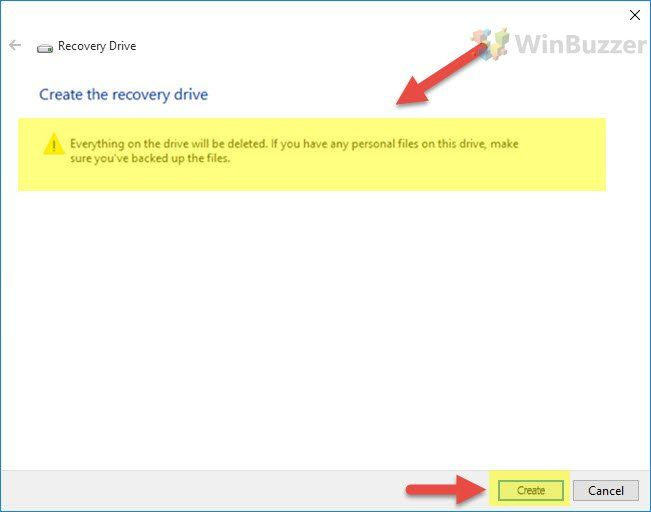If Windows 10 Refuses To Start A Usb Recovery Drive Might Help By