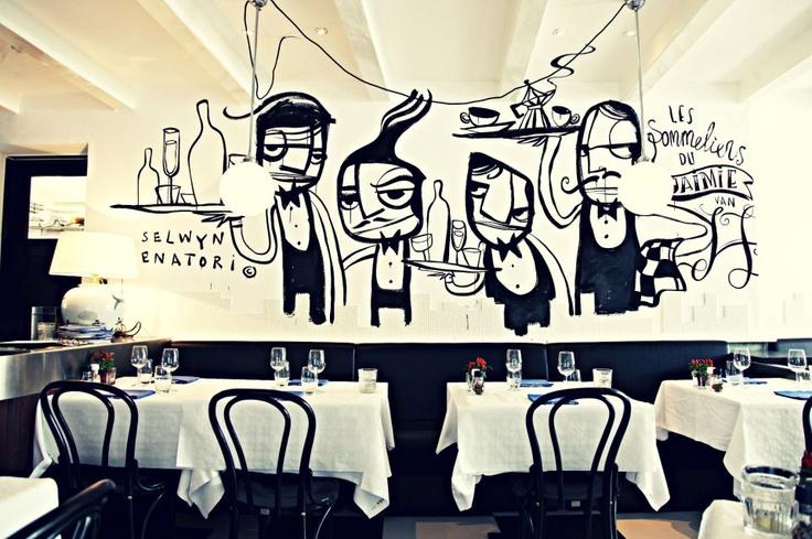 Restaurant art - Selwyn Senatori
