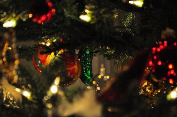"The ""German"" Christmas Pickle"