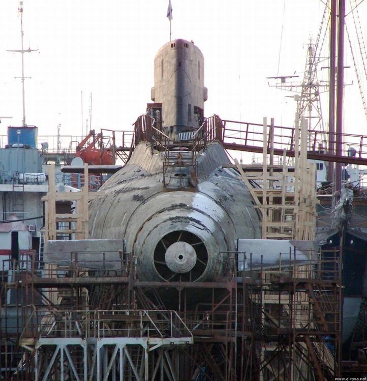 «Черная дыра в море» - Подводные лодки проекта 877 «Палтус» (7)