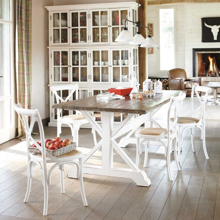 1000 images about mdm tradition on pinterest sailor style cabinets and - Table archibald maison du monde ...
