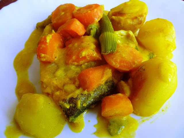 mari plateau: Ψάρι gratin με λαχανικά