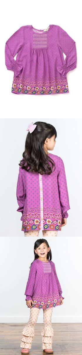 Tops Shirts and T-Shirts 175529: Matilda Jane Masks Off Tunic 6 Girls Purple Floral Smocked Top Make Believe Nwt -> BUY IT NOW ONLY: $35.95 on eBay!