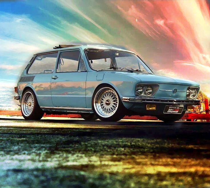VW Brasília With BBS wheels