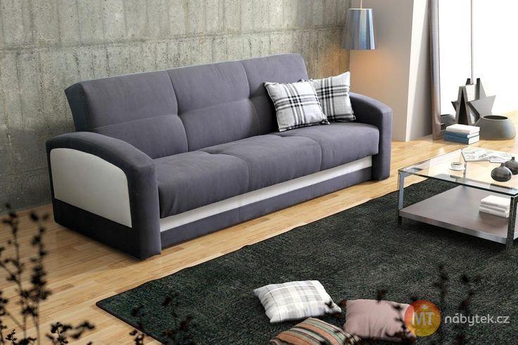 Rozkládací pohovka Maira pro chvilku klidu a lenošení #settee #sofa #divan #couch