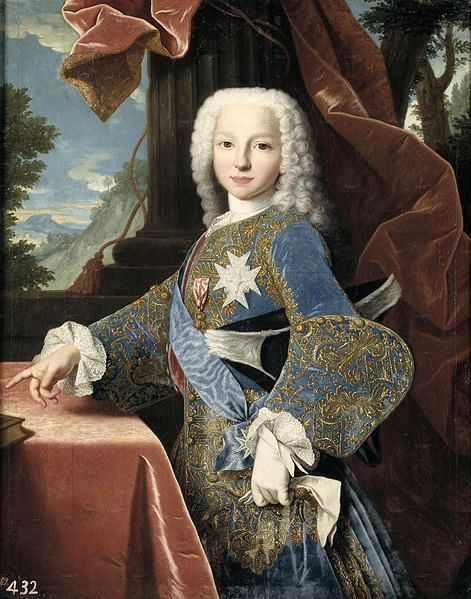 Philip Of Spain, Duke Of Parma, As A Child