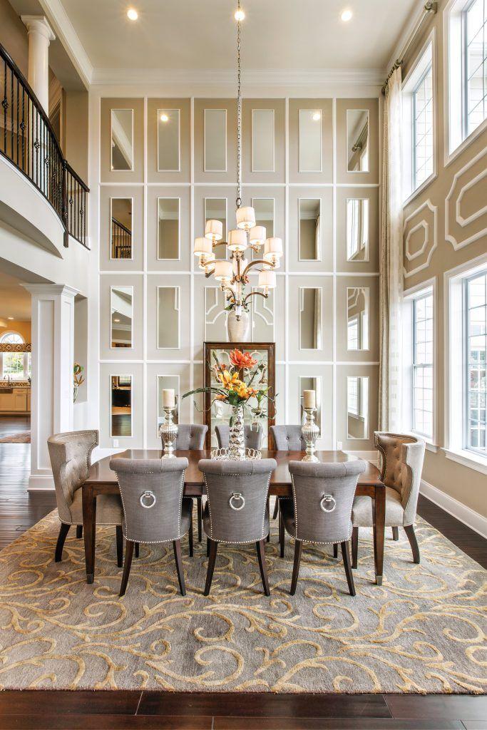 Pro Tips How To Make A Small Room Look Bigger Toll Talks Toll Talks Elegant Dining Room Mirror Dining Room Luxury Dining Room