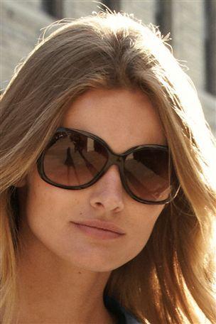 Next - Brown Tortoiseshell Effect Stud Arm Plastic Sunglasses
