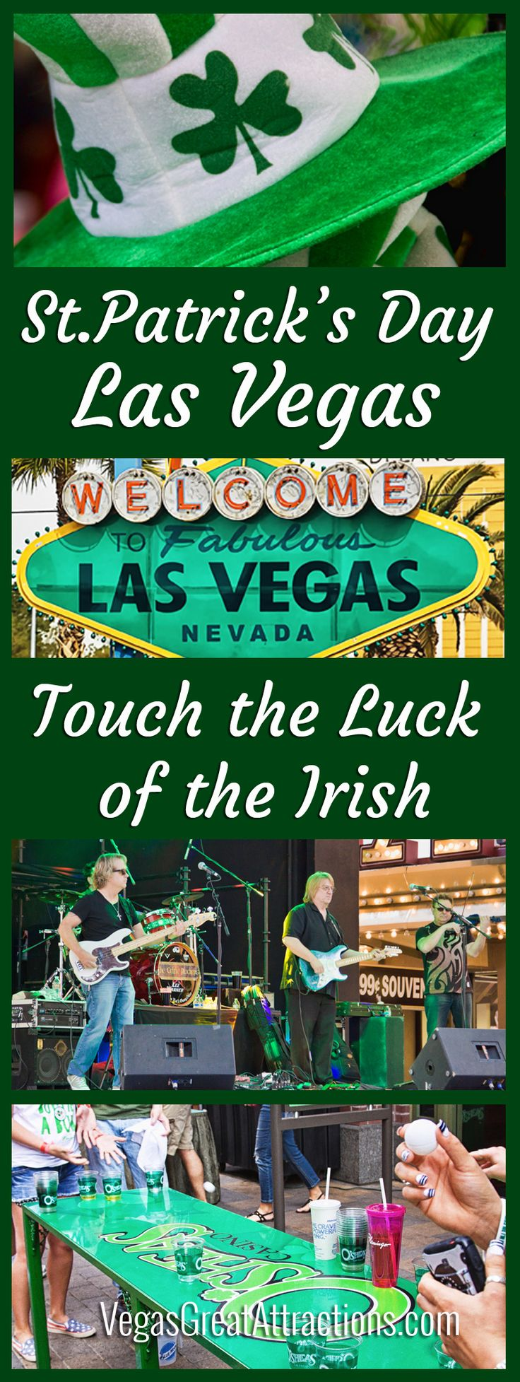 St. Patrick's Day Las Vegas - Touch the Luck of the Irish