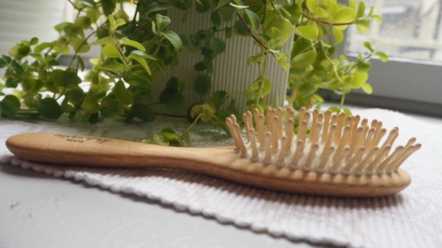 Benefits of using a wooden brush | Sara Steele | Organic   Natural Hair