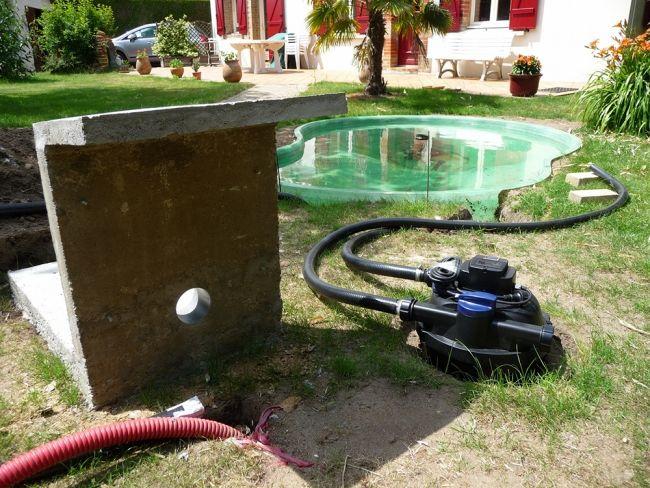 Les 25 meilleures id es de la cat gorie bassin pr form sur pinterest bassin de jardin - Bassin d ornement preforme besancon ...