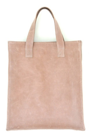 Simple leather bag. MINIMO
