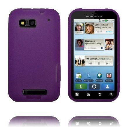 Soft Shell - New Cut (Violetti) Motorola Defy Silikonisuojus