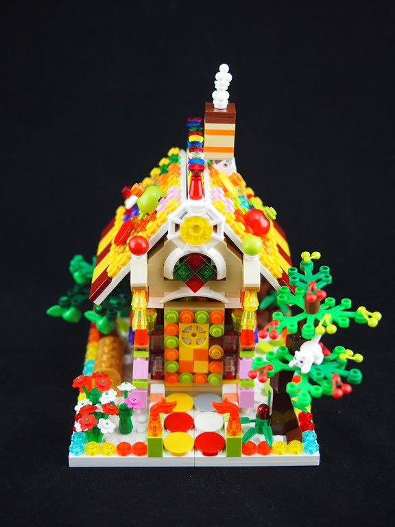 Lego candy house.